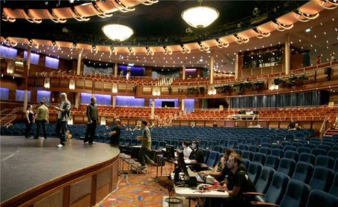 Oasis of the Seas theatre