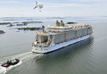 Oasis of the Seas Trial